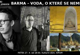 Beseda o Barmě: Brit a Jiří Plieštik Jensen